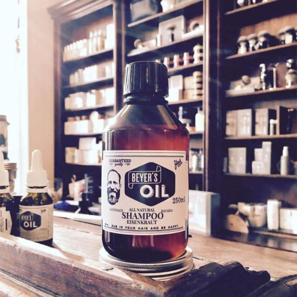 Shampoo im Barbershop