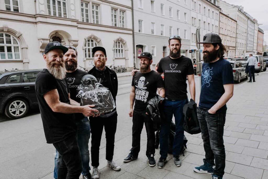 Blackbeards in the house
