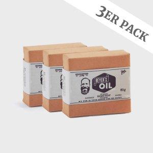 Bartseife 3er Pack